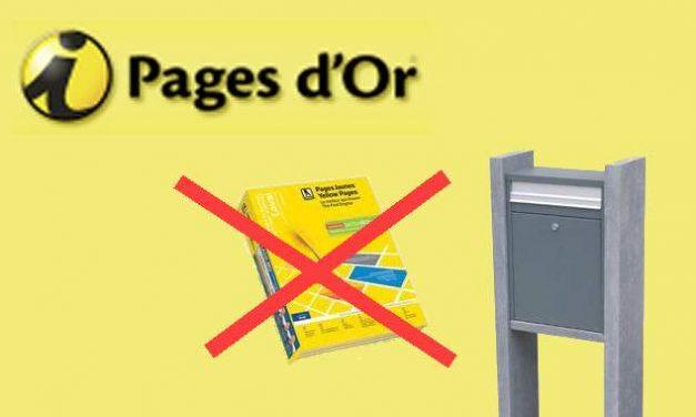 Bottin téléphonique papier: Stop ou Encore ?