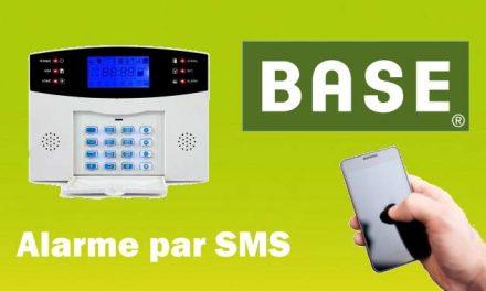 Carte Sim BASE B-0 pour centrale d'alarme avec sms