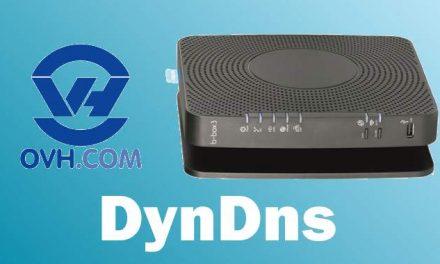 Configurer un Dyndns avec la BBox 3 de Proximus et un domaine chez OVH