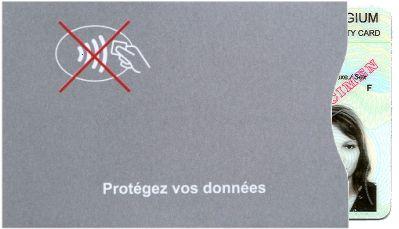 NFC / RFID sur la carte d'identité mobile ID belge en 2018