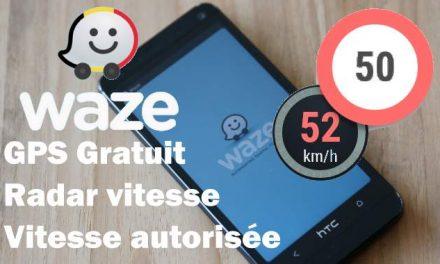 L'application Waze affiche la vitesse autorisée max en Belgique