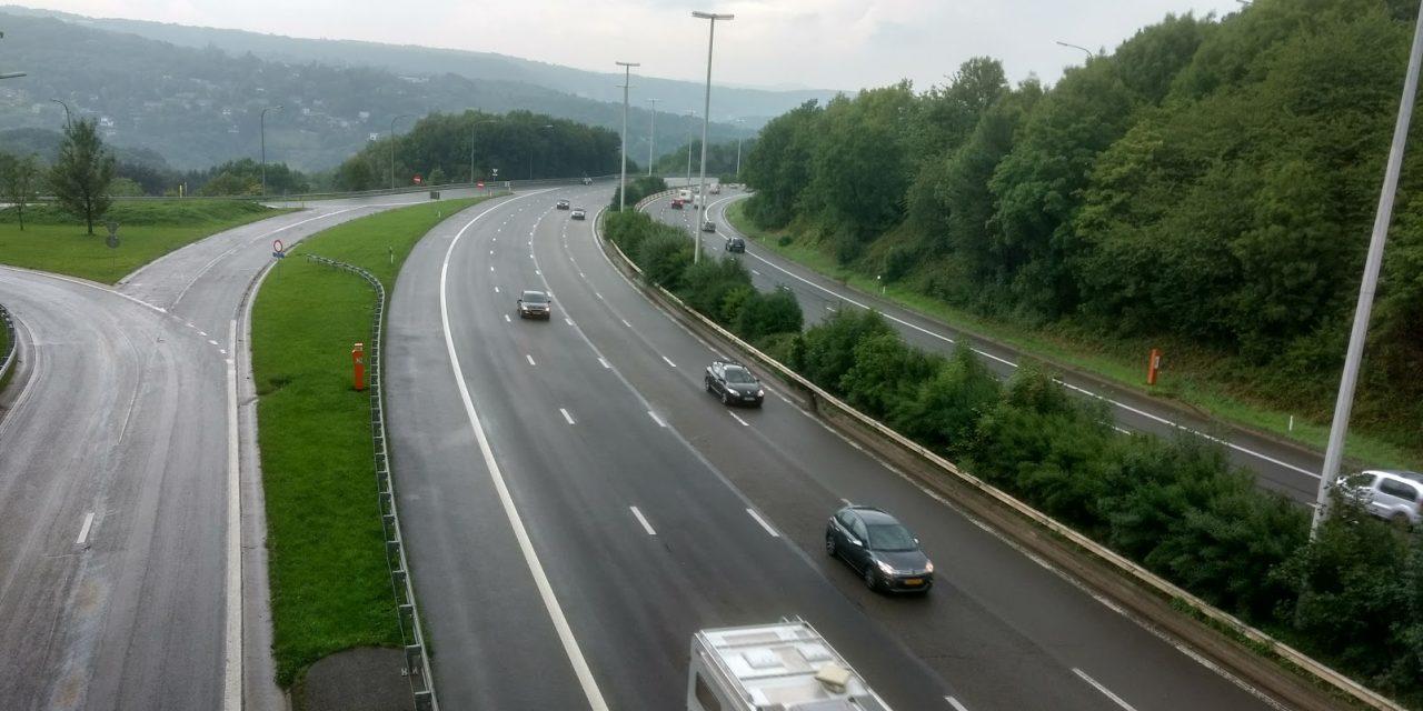 Activation de 4/7 radars sur autoroute en Wallonie