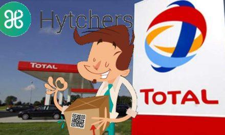 Hytchers réseau Belge de livraison de colis de station en station Total par des particuliers