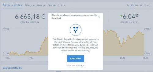 BitCoin La Bifurcation de la crypto-monnaie