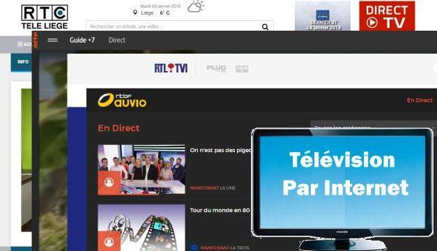 La télévision belge gratuite par internet