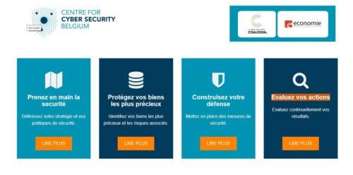 Entreprise consultez le cyberguide du Centre pour la cybersécurité de Belgique
