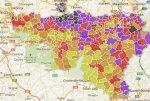 La valeur des maisons vendues en Wallonie et à Bruxelles