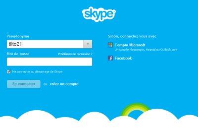 Fusionner Skype et Microsoft Messenger msn