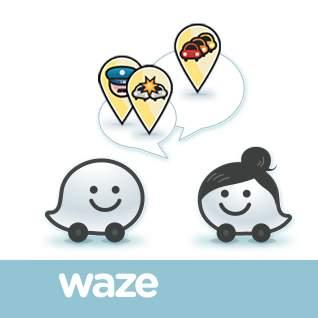 Afficher les radars avec Waze même en France